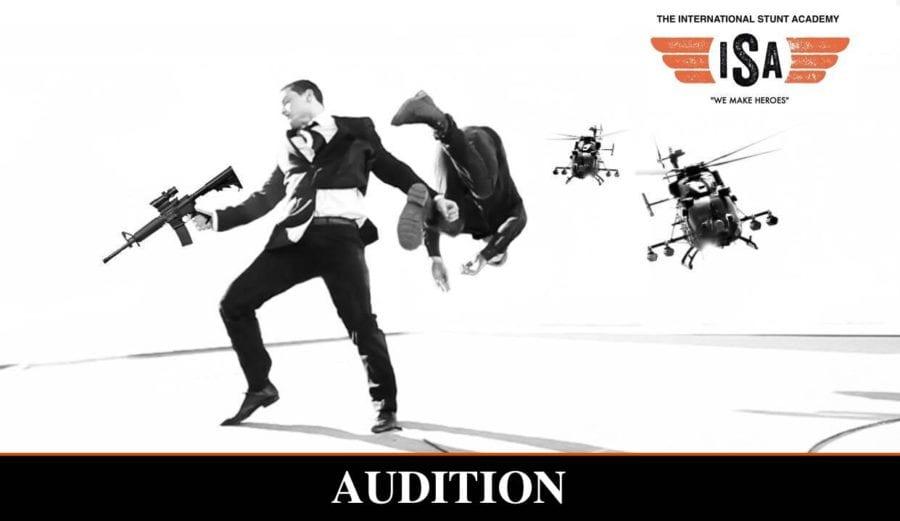 Audition: Action-skuespillere! hovedbilde