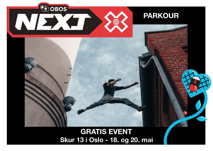 OBOS Next X – spektakulært gratis tilbud for 8-16 åringer hovedbilde