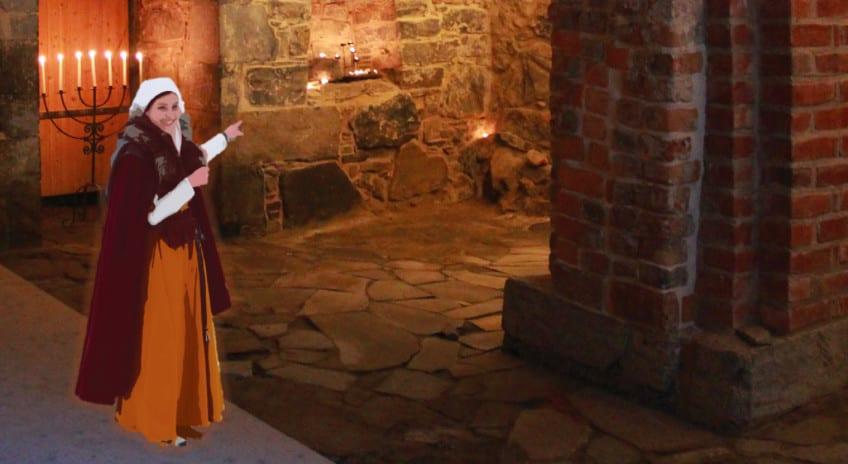 Bli med inn i MiddelalderOslos hemmelige rom hovedbilde