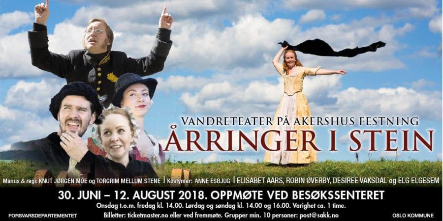 Årringer i stein – Vandreteatret på Akershus festning
