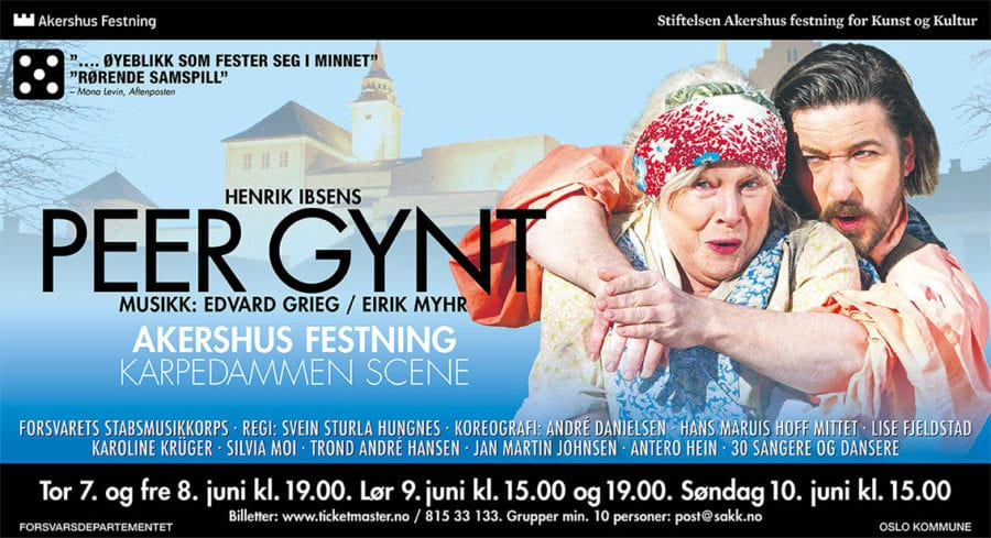 Peer Gynt på Akershus festning hovedbilde