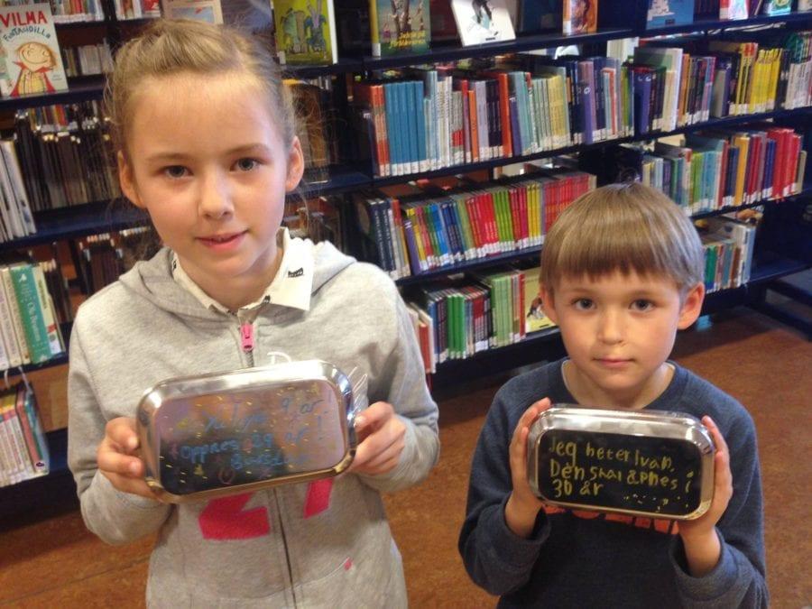 Barnas lørdag: Lag din egen tidskapsel hovedbilde