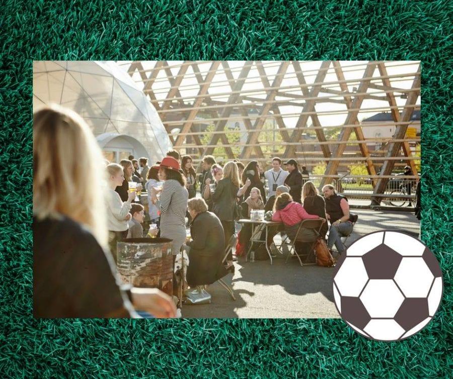 Fotball VM på SALT hovedbilde