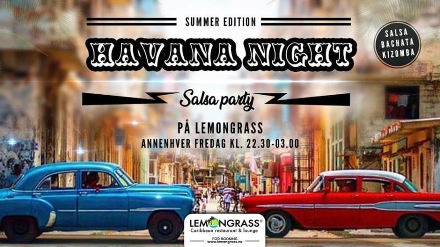 Habana Night Salsa Party fredag 3.august hovedbilde