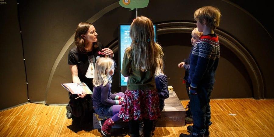 Barneløype på Nobels Fredssenter hovedbilde
