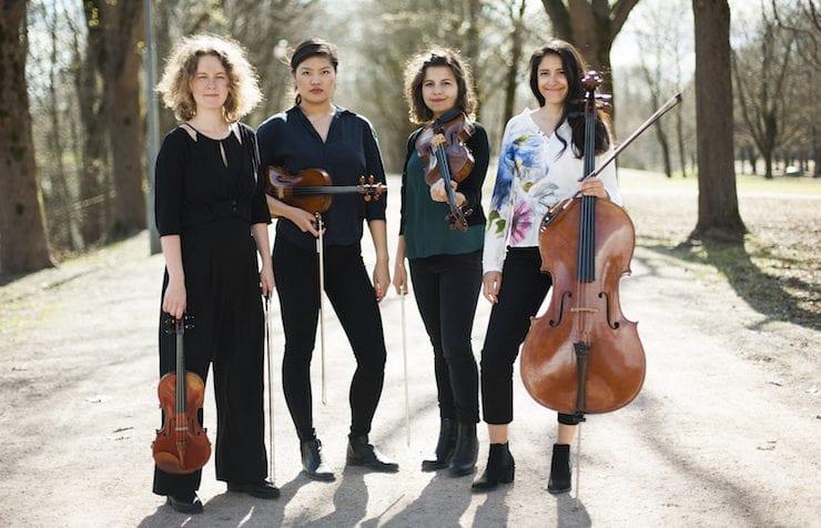 Lunsj med kultur: Velvet Quartet (klassisk) hovedbilde