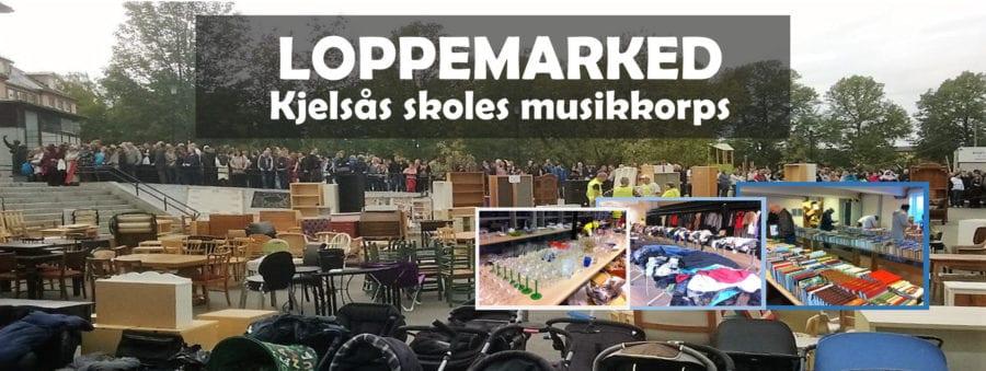 Loppemarked på Kjelsås skole, høsten 2018 hovedbilde