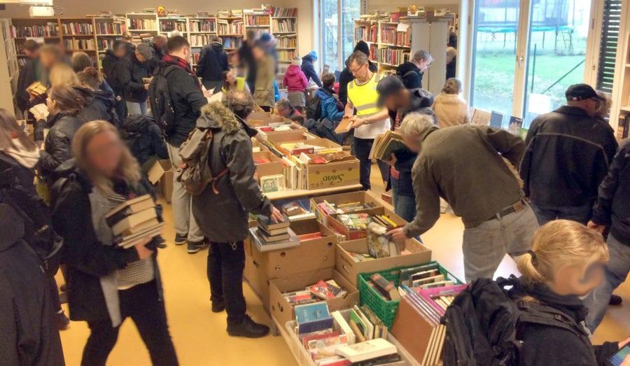 PEIK loppemarked på Skøyen skole i september
