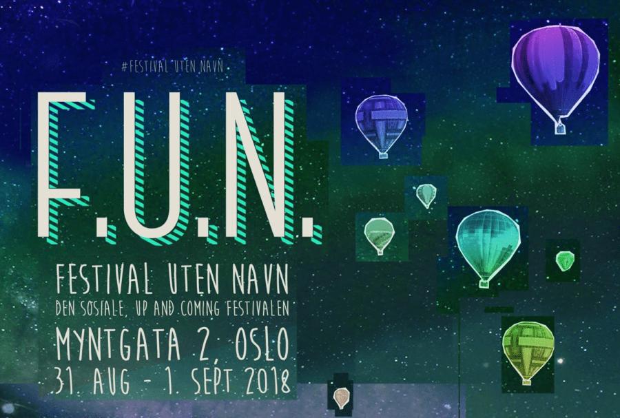 Festival Uten Navn 2018 hovedbilde