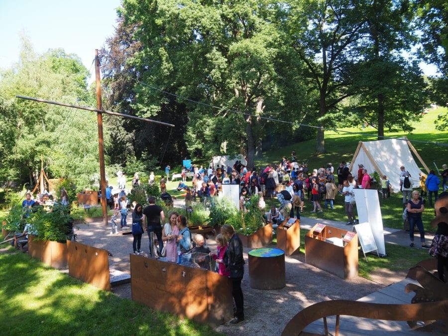Vikingdag i Botanisk Hage hovedbilde