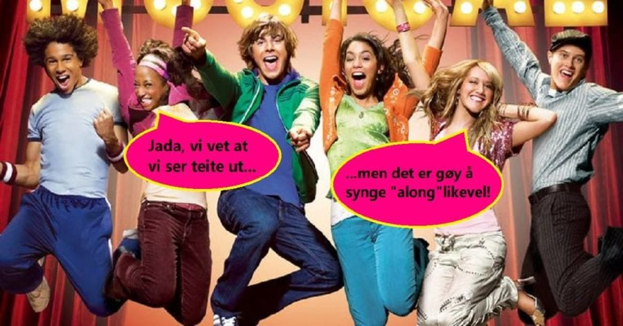 SYNG-along-kino: High School Musical hovedbilde