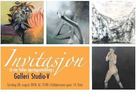 Åpningsutstilling Galleri Studio-V hovedbilde
