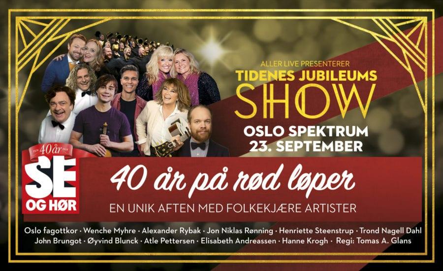 40 år på rød løper – et musikalsk show