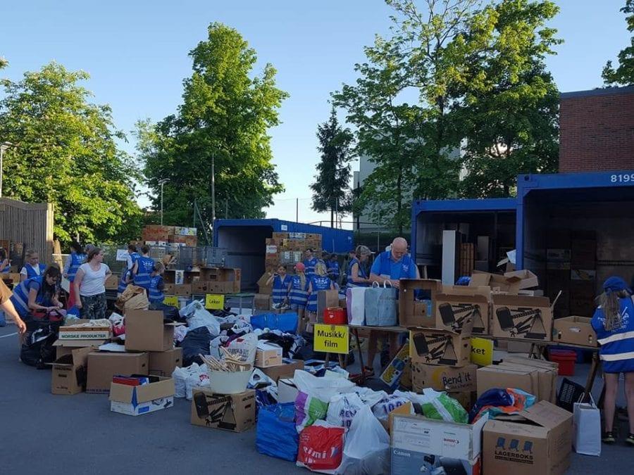Loppemarked Vinderen skoles musikkorps høst 2018 hovedbilde