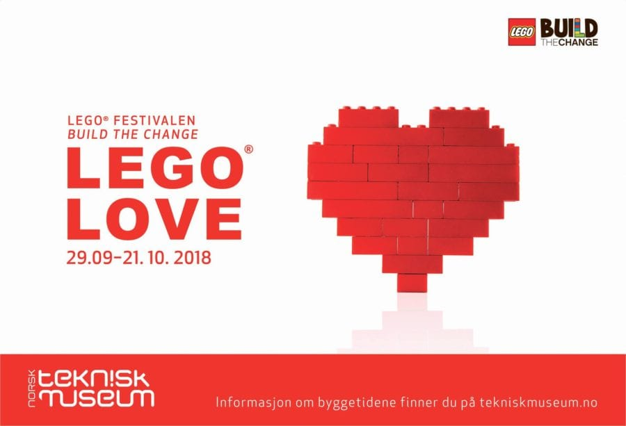 Legofestival på Teknisk Museum