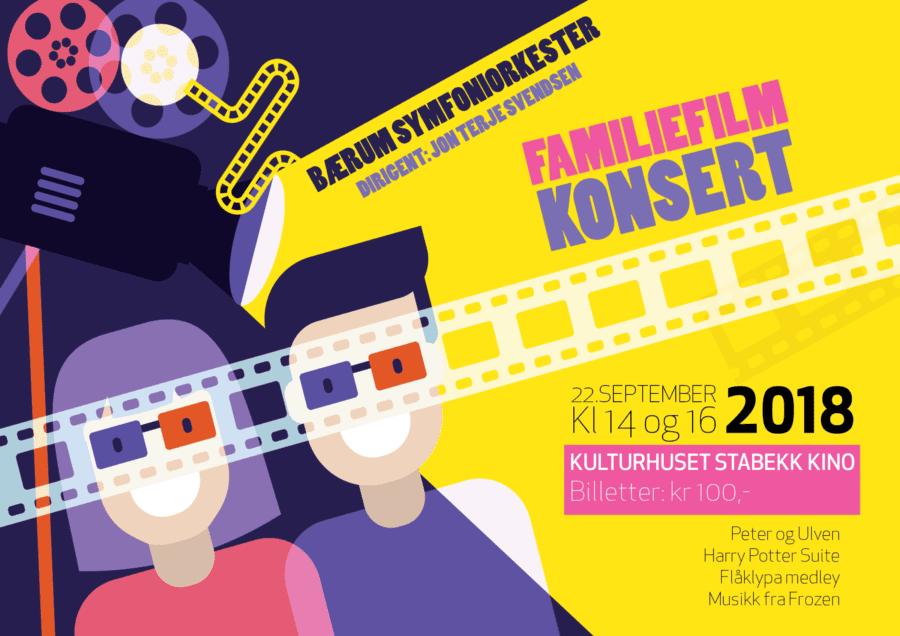 Familiefilmkonsert