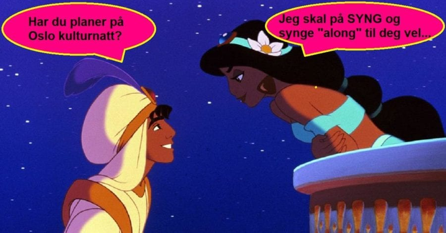 Oslo Kulturnatt: Aladdin SYNG-along-kino hovedbilde