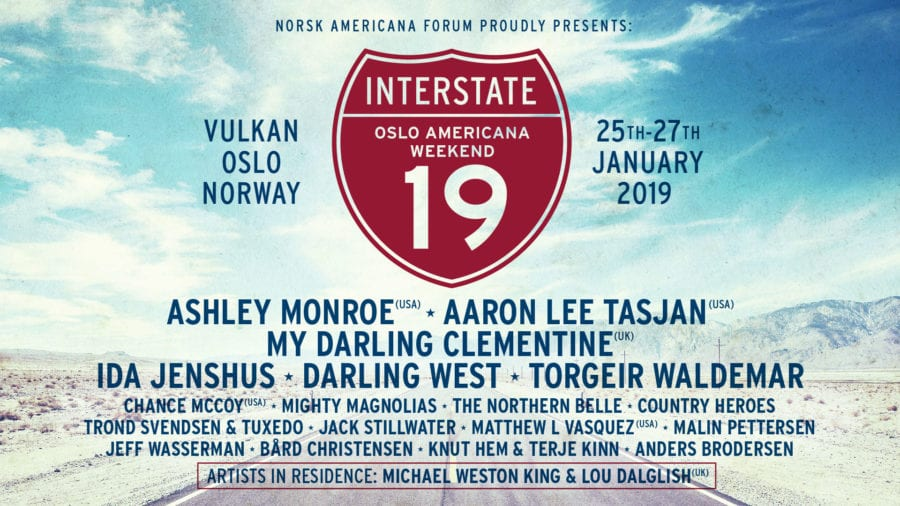 Eventbilde: Interstate 19 – Oslo Americana Weekend