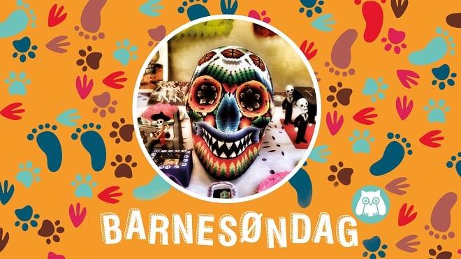 Barnesøndag: De dødes dag i Mexico hovedbilde