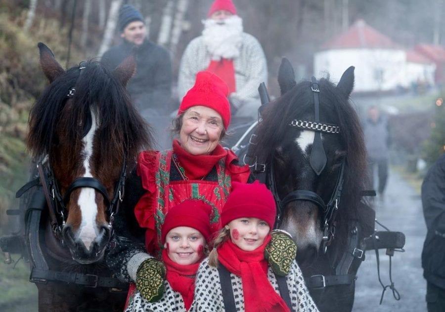 Tradisjonsrikt julemarked på Bærums Verk