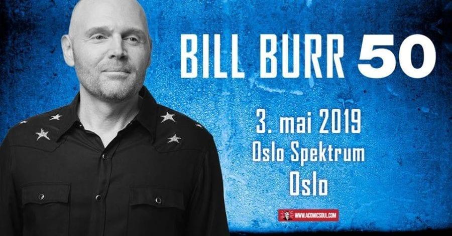 Bill Burr til Oslo Spektrum hovedbilde