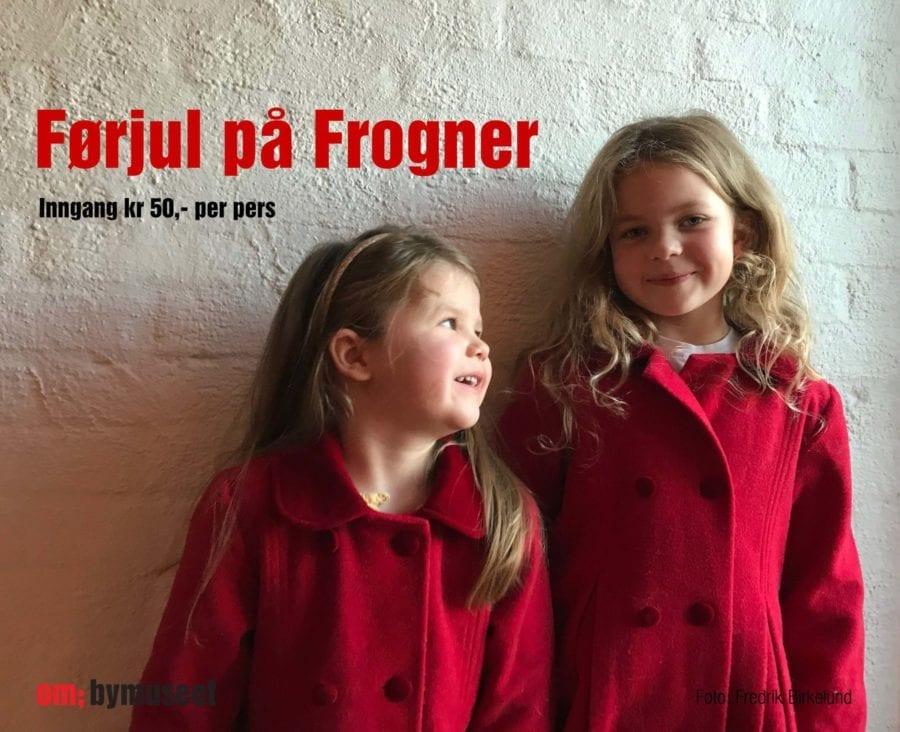 Førjul på Frogner: Gammeldags juleverksted
