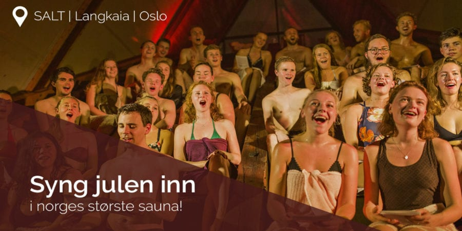 Syng julen inn i Allsang-sauna!