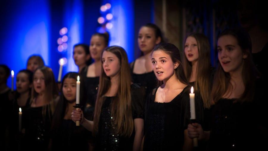 Julekonserter med Det Norske Jentekor hovedbilde