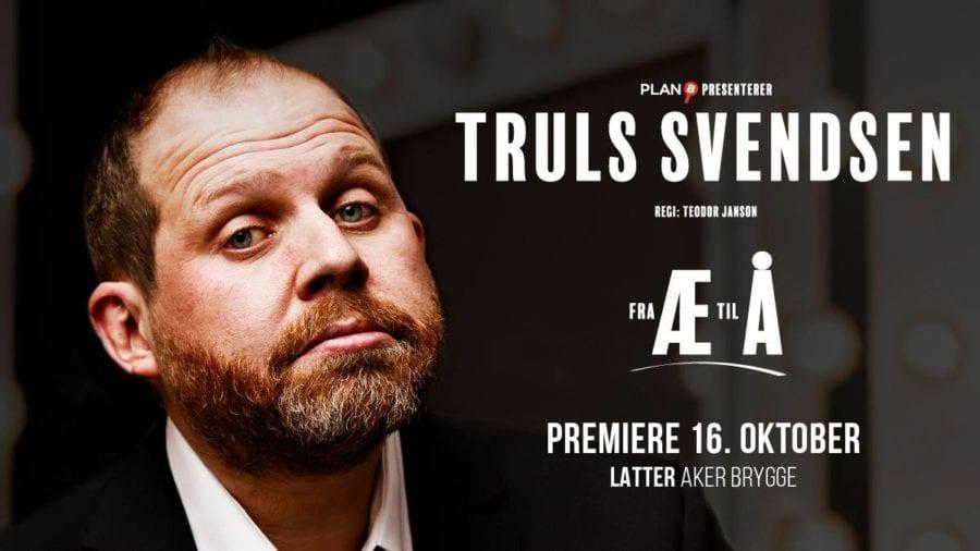 Eventbilde: Truls Svendsen – Fra Æ til Å