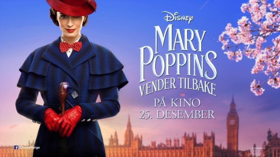Eventbilde: Eksklusiv festpremiere: Mary Poppins vender tilbake