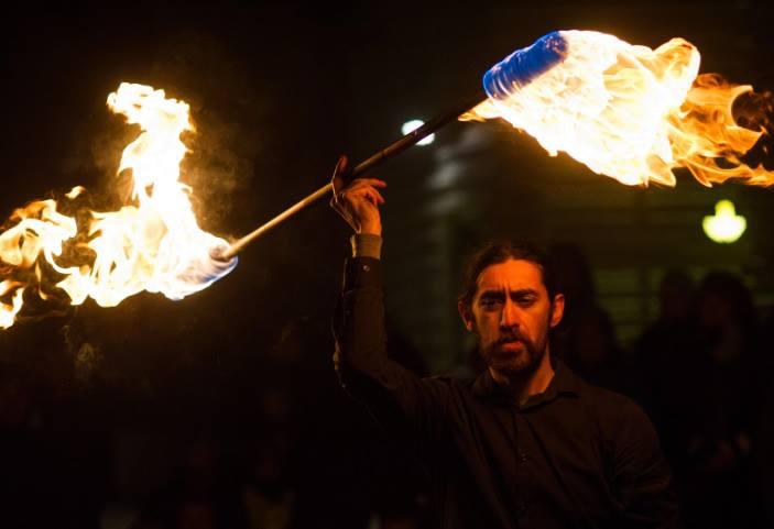 Gratis Flammeshow på Hadeland Glassverk hovedbilde