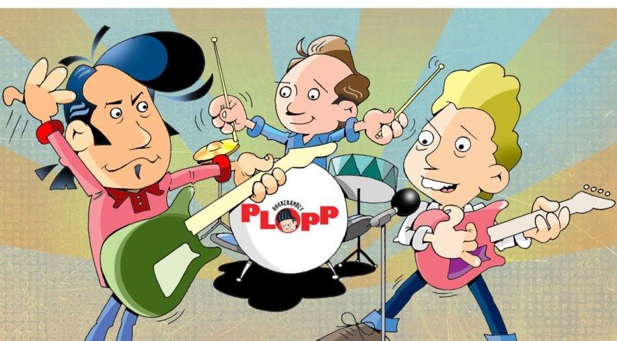 PLOPP – Rockematine for barn hovedbilde