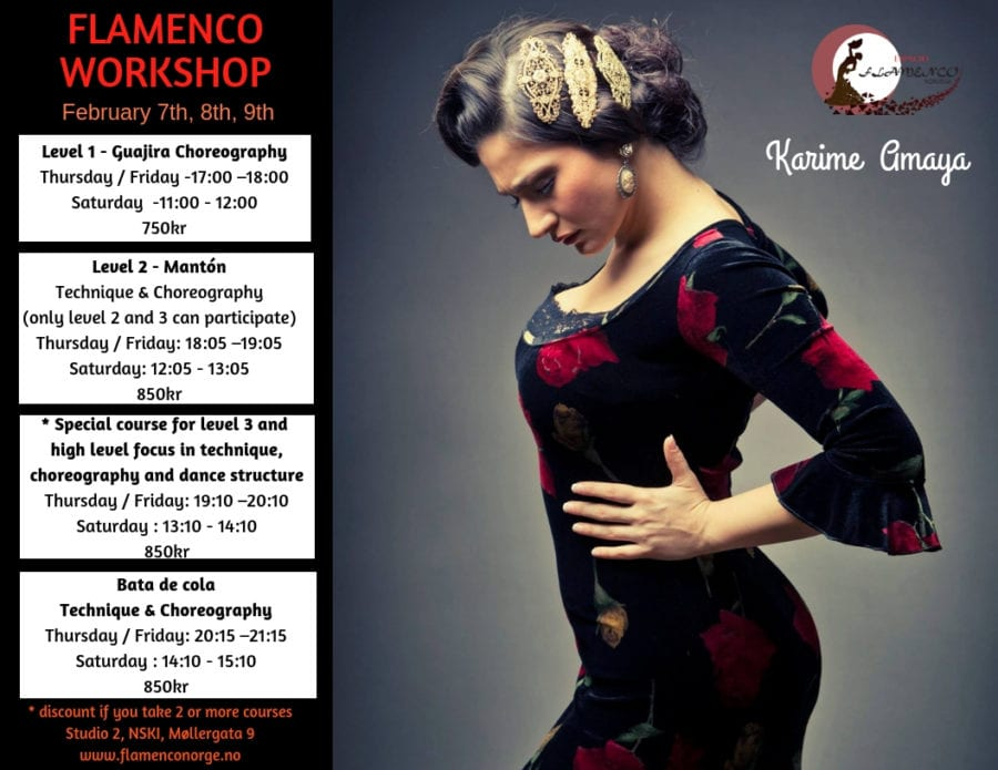 Flamenco workshop – Karime Amaya hovedbilde