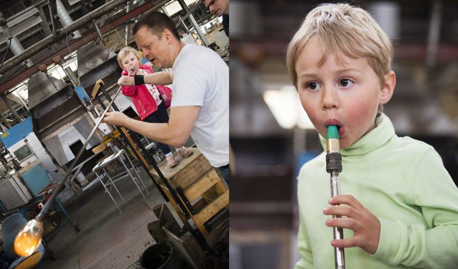 Blås ditt eget glass på Hadeland Glassverk hovedbilde