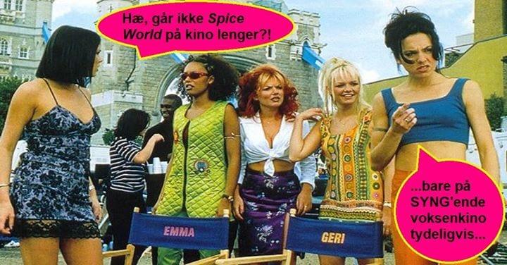 SYNG'ende voksenkino: Spice World hovedbilde