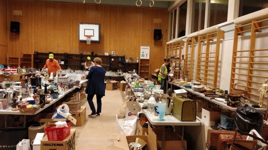 Loppemarked på Smestad Skole hovedbilde