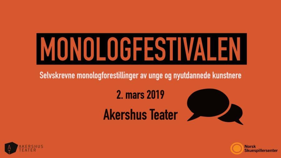 Monologfestivalen 2019 hovedbilde