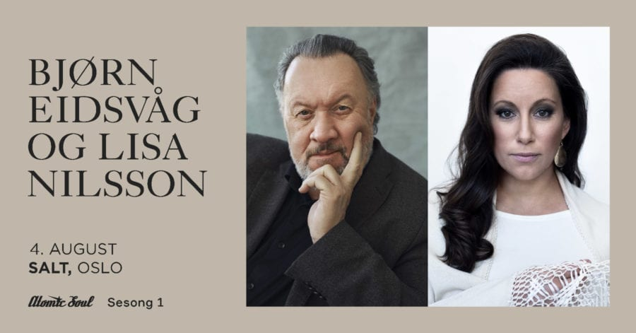 Utekonsert: Bjørn Eidsvåg + Lisa Nilsson hovedbilde