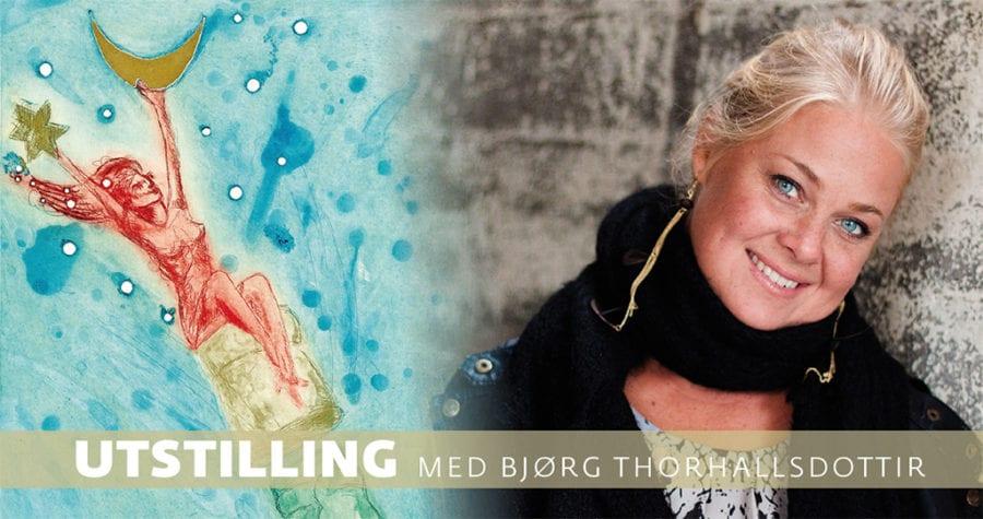 Utstilling med Bjørg Thorhallsdottir – Kun 2 dager hovedbilde