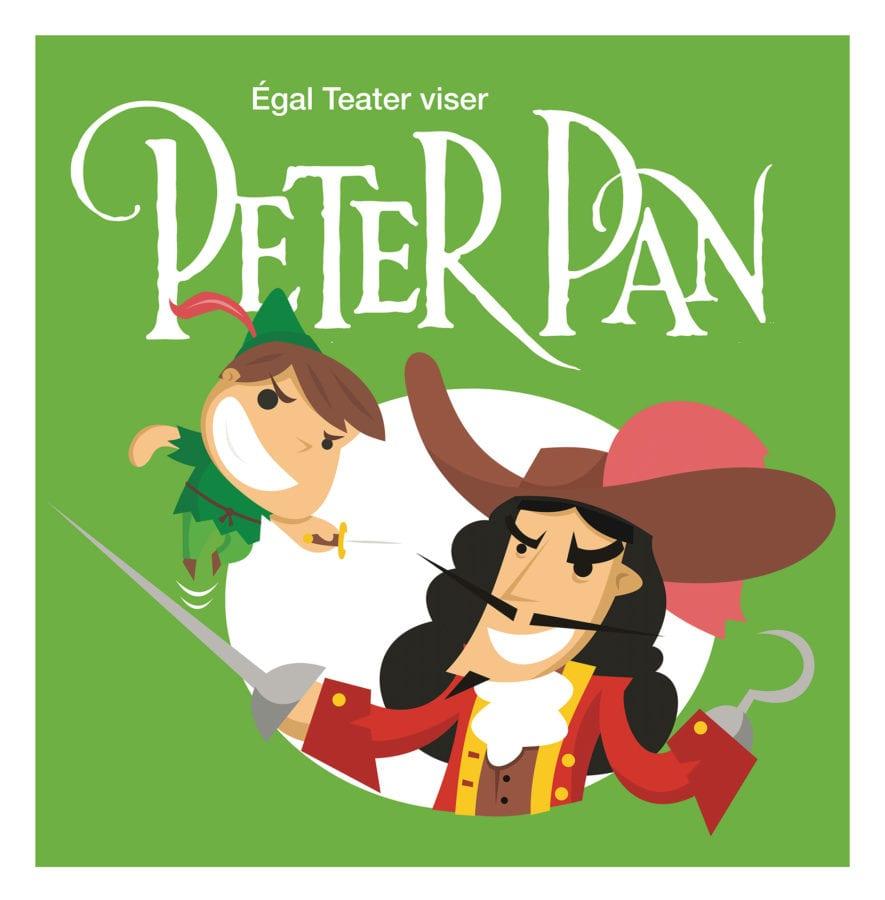 Peter Pan og Kaptein Krok hovedbilde