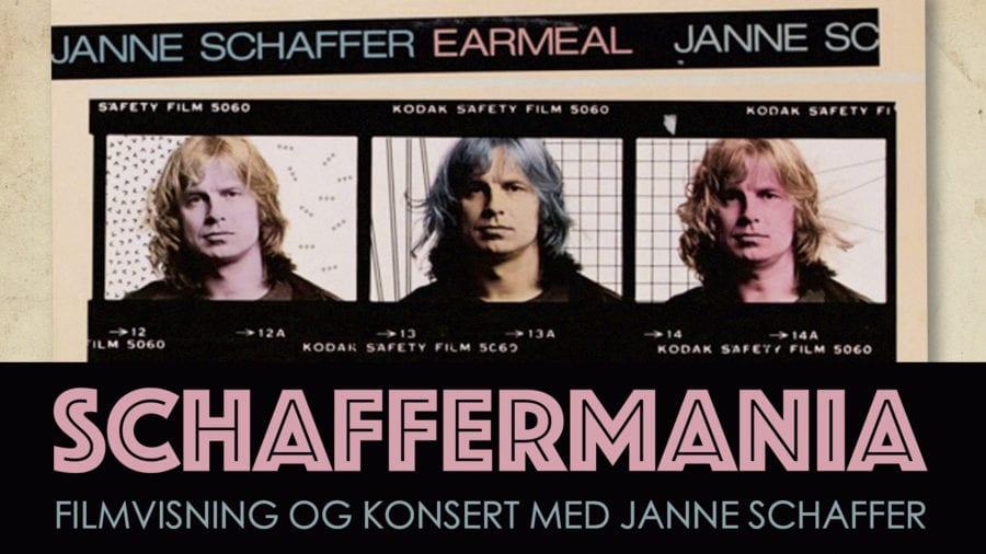 Schaffermania – film og konsert med Janne Schaffer hovedbilde
