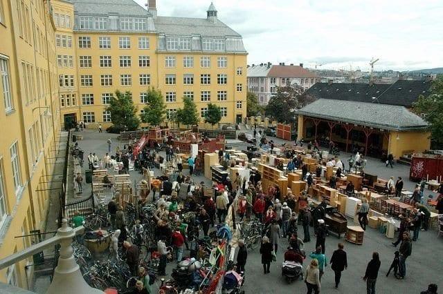Årets største loppemarked på Ila skole hovedbilde