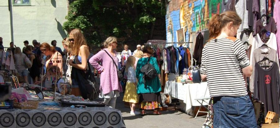 Søndagsmarkedet i Ingensgate hovedbilde
