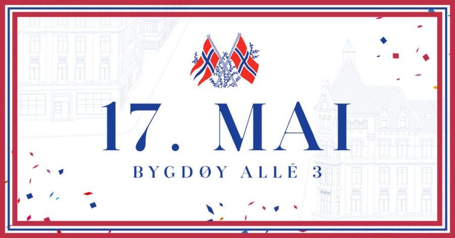 17. mai på Bygdøy Allé 3 hovedbilde