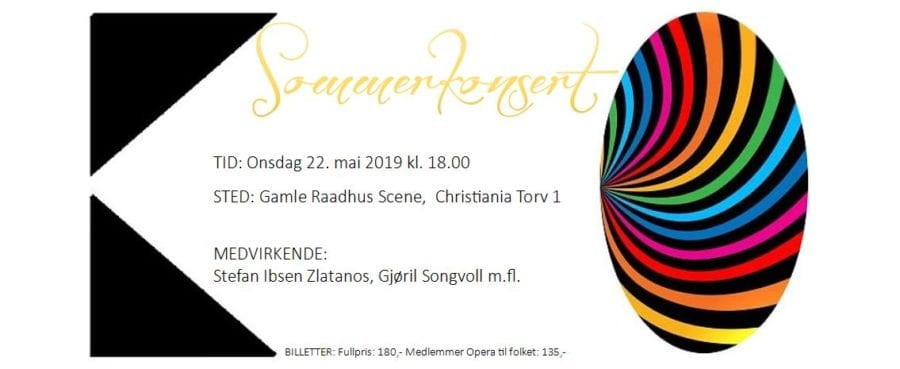 Eventbilde: Kristiania Operakor – Sommerkonsert