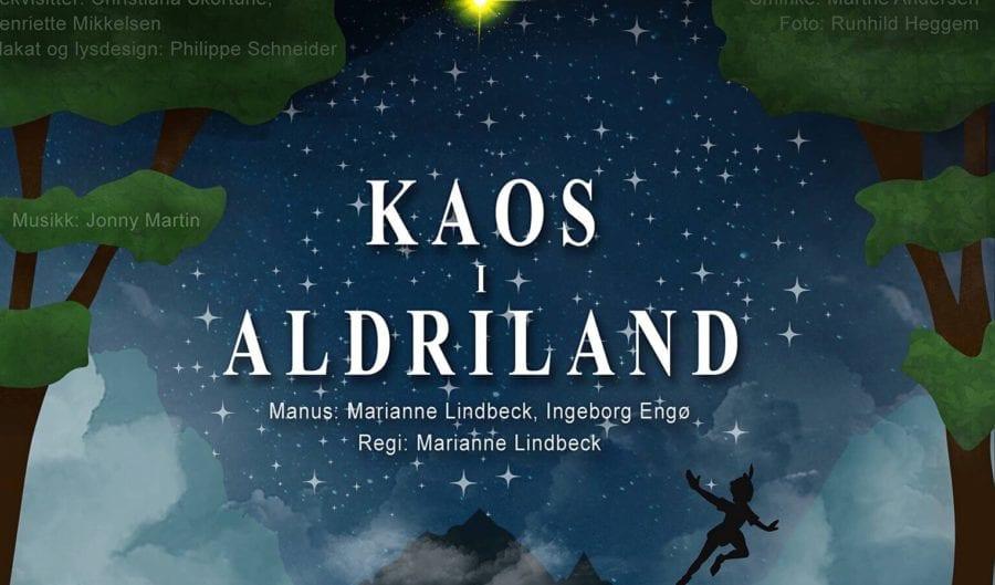 Familieforestillingen «Kaos i Aldriland» hovedbilde