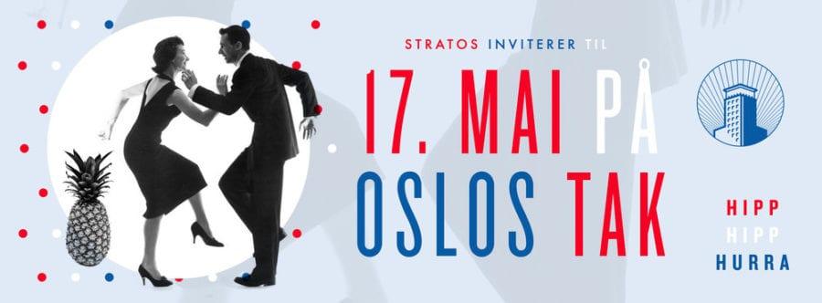 17. mai feiring å Oslos tak hovedbilde