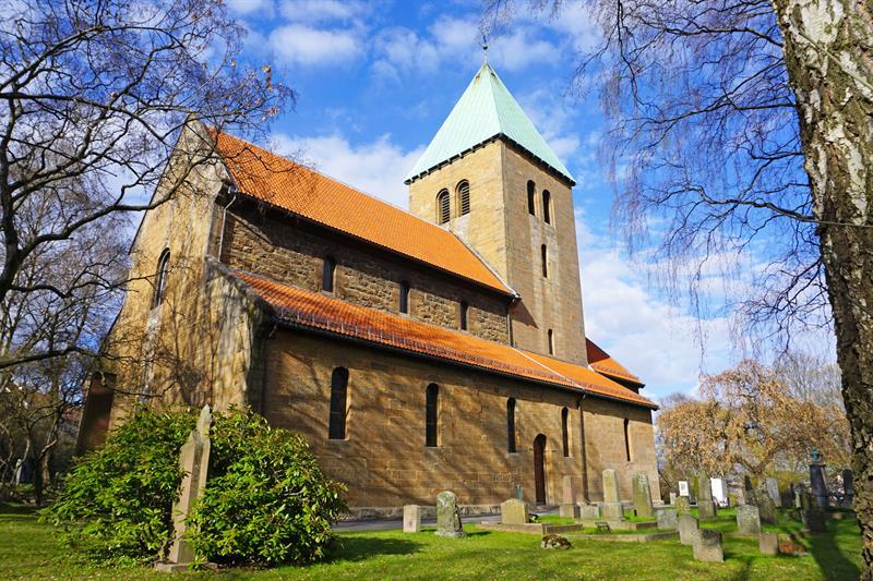 Eventbilde: Kirkevandring: 900 år med kristentro