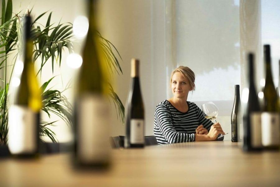 Eventbilde: Eva Fricke, en stjerne på den Tyske vinhimmelen