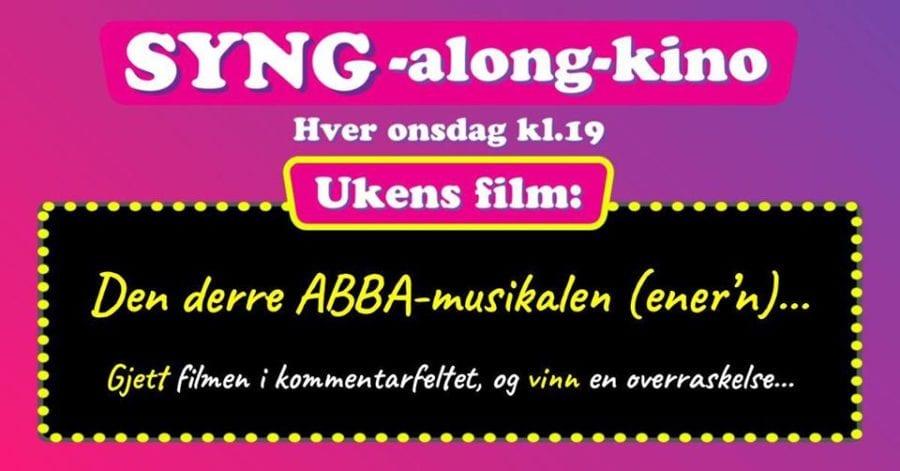 SYNG-along-kino – ABBA hovedbilde